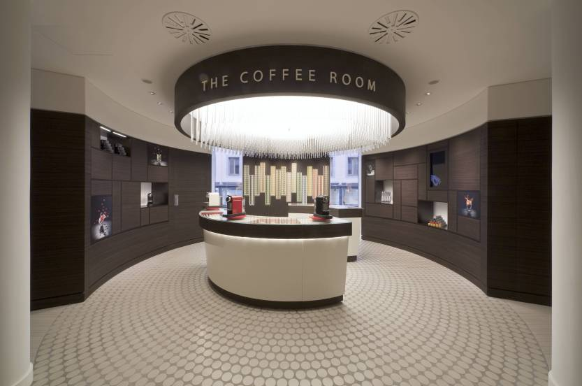 Coffee Room - Nespresso boutique in Munich, Germany