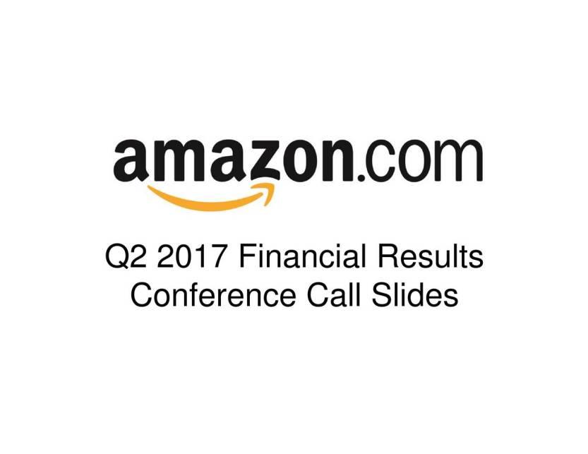 amazon earnings calls 3